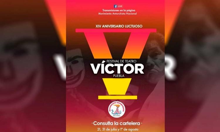 """¡No lo olvidan! Antorchistas realizan homenaje a Víctor Puebla, mejor conocido como """"El Divo"""""""