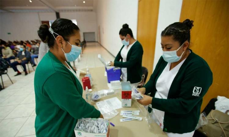 Vacunación en Tlaxcala