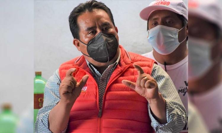 En Tecomatlán defienden a Rosendo Morales, presidente electo de Ocoyucan