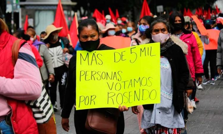 La decisión del pueblo ocoyuquense por Rosendo Morales se debe respetar