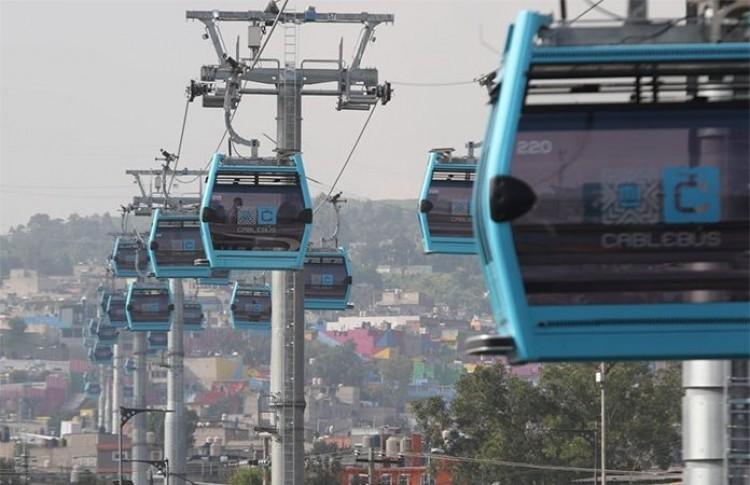 Inauguran Línea 2 del Cablebús de la CDMX; el transporte teleférico público de personas más grande del mundo