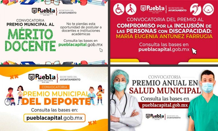 Convocatorias del Ayuntamiento de Puebla