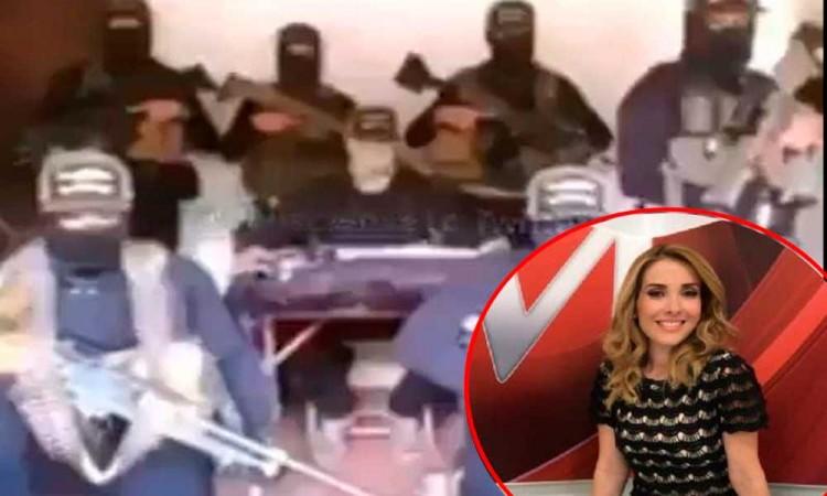 CJNG amenaza a la periodista Azucena Uresti