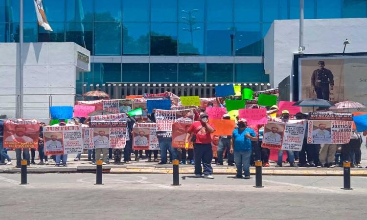 Piden Justicia para Jairo Alberto Cuevas