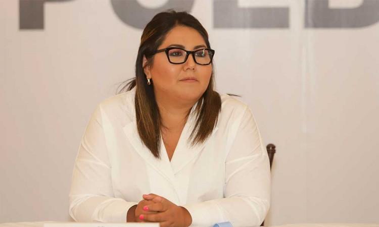 Posible reelección de Genoveva Huerta divide a mujeres panistas poblanas