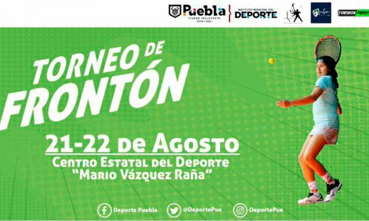 Primer campeonato abierto de Frontenis de Pelota Preolímpica en Puebla, así te puedes inscribir