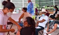 Aplican segunda dosis de la vacuna AstraZeneca en Huitzilan de Serdán