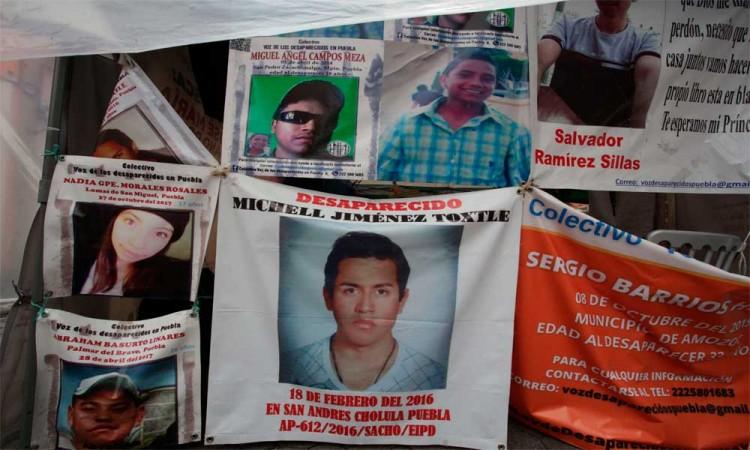Desaparecidos contarán con nueva voz