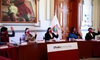 Ayuntamiento de Puebla sesiona a favor de la prevención, atención, sanción y erradicación de la violencia contra las mujeres