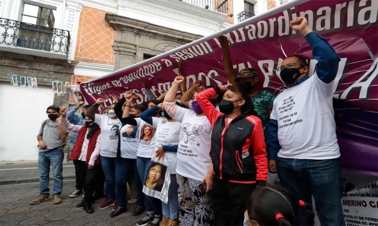 Miembros de familiares de desaparecidos vigilarán que se implemente la nueva ley