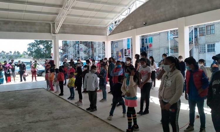 Finalizan curso de verano de la Unidad Antorcha Obrera en Puebla