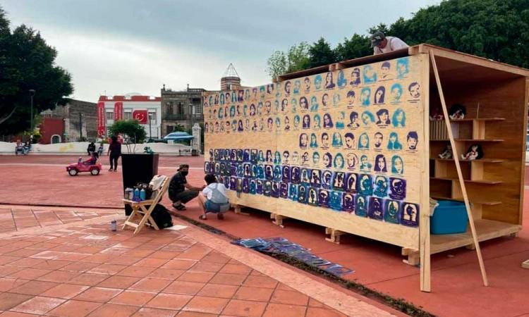 Conferencias y otras actividades en apoyo a desaparecidos en la Expo Rodante