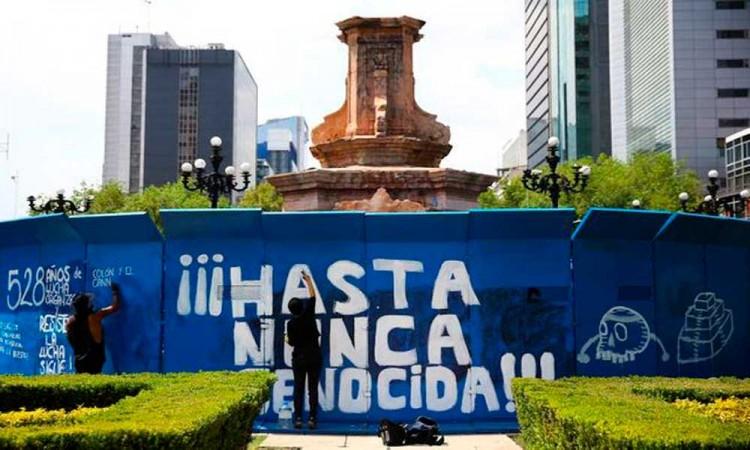 Escultura de mujer indígena olmeca suplirá estatua de Colón