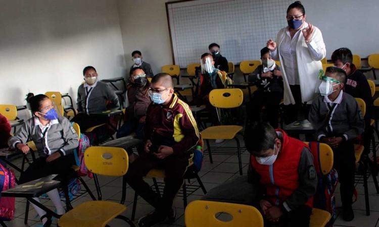 Más del 50 por ciento de padres de familia eligió las clases presenciales en Puebla