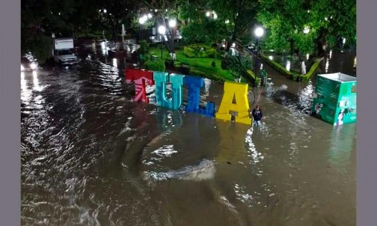 Alerta en Hidalgo: Exhortan a evacuar Tula de Allende tras desbordamiento de presa