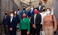 Avanza la transición; Ayuntamiento de Puebla presenta panorama de bienestar en la ciudad