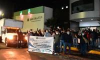 Envía Sindicato 'Benito Juárez'  víveres para los damnificados de la Sierra Norte de Puebla
