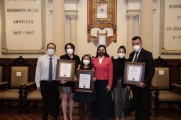 Ayuntamiento de Puebla reconoce mérito, docencia y participación deportiva