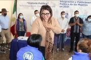 Desde el PAN Puebla hemos trabajado por el fortalecimiento y participación política de los poblanos: Genoveva Huerta