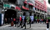 Ayuntamiento de Puebla conmemora gesta heroica de la defensa del Castillo de Chapultepec