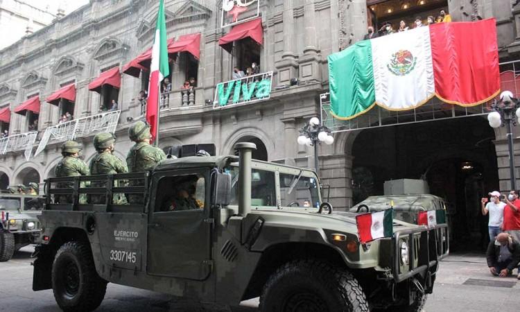Desfile del 16 de septiembre en Puebla otra vez sin público