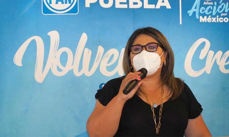 Celebra PAN su 82 aniversario en Puebla, Genoveva Huerta encabeza el Programa Especial de Aniversario