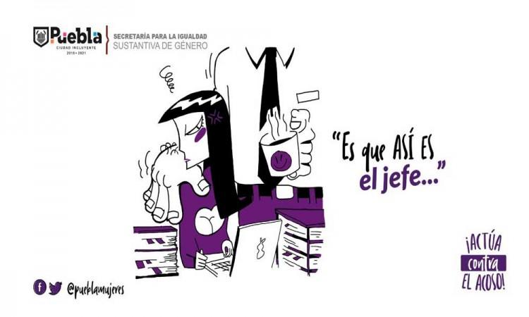 Refrenda Ayuntamiento de Puebla combate a la violencia de género