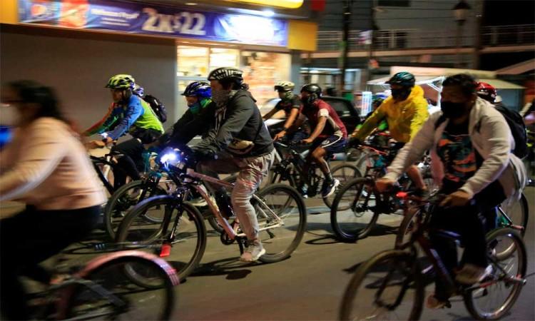 2da Rodada de Masa Crítica en el Día Mundial sin Autos en Puebla capital