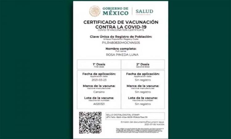 ¿Errores en tu Certificado de vacunación COVID-19? Así es como puedes corregirlos