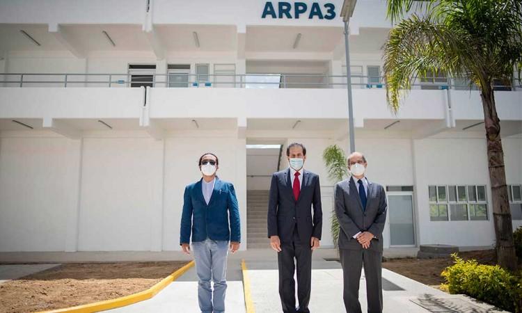 Inauguran nuevo edificio en la Escuela de Artes Plásticas de la BUAP