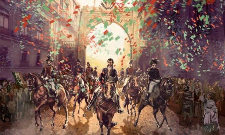 Se conmemoran 200 años de la independencia de México