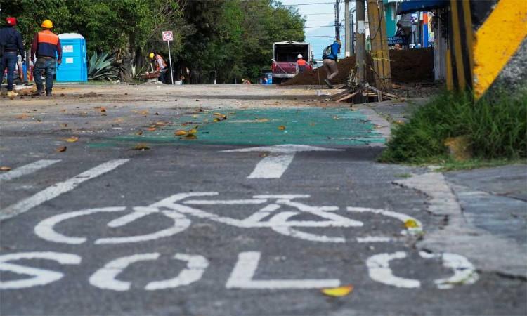 Aseguran panistas que ciclovías deben ser colocadas bajo un análisis