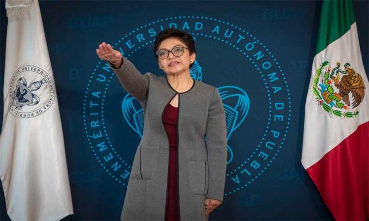 Nueva rectora de la BUAP se compromete a no tolerar ni un abuso en la comunidad universitaria