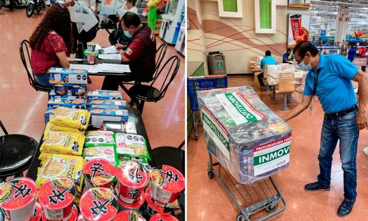 Profeco retira más de 129 mil unidades de sopas instantáneas del mercado mexicano