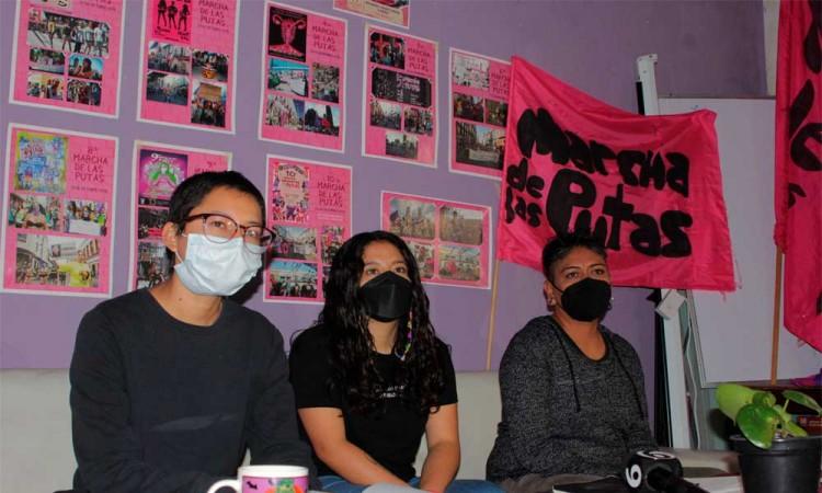 Todo listo para la 11va Marcha de las Putas en Puebla