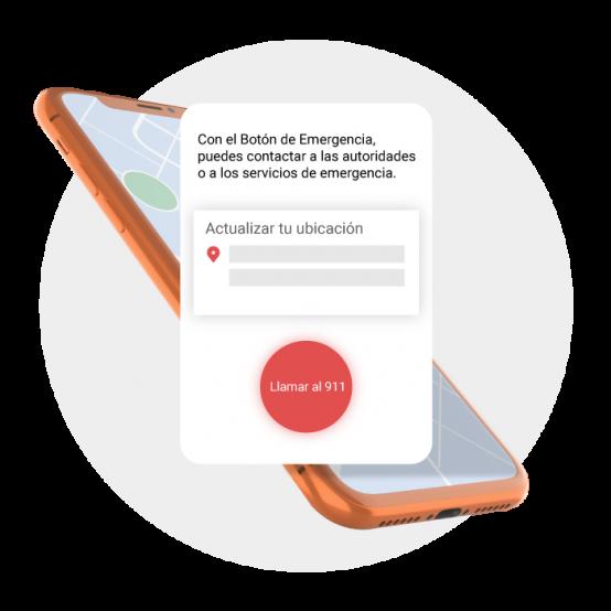"""Usuarios de la plataforma DiDi, más seguros con el """"Botón de Emergencia"""""""