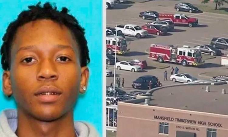 Tiroteo en una secundaria de Texas deja 4 heridos, el sospechoso ya fue detenido