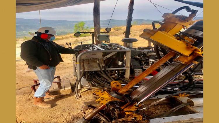 Avanzan proyectos de barrenación en zona adyacente al proyecto Ixtaca