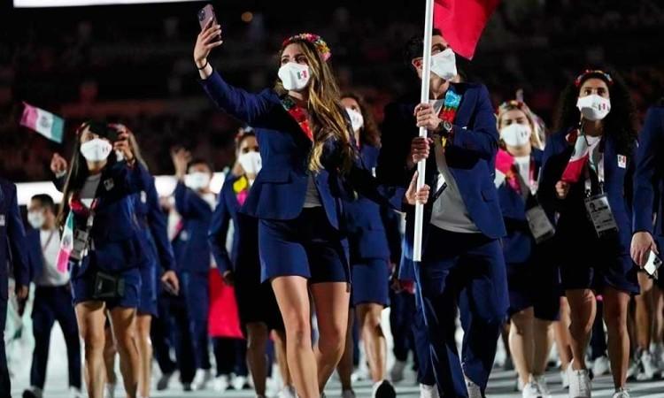 Todos los detalles de los trajes que portó México en la inauguración de los Juegos Olímpicos