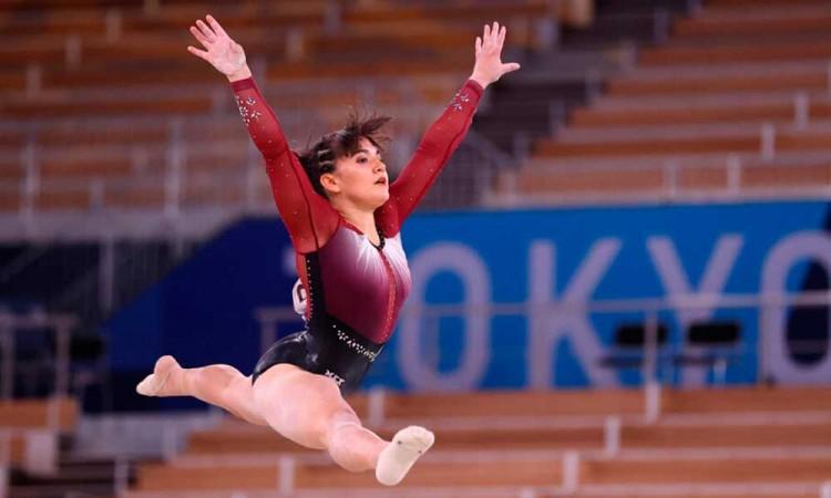 Alexa Moreno, la segunda mujer mexicana en participar en una final de gimnasia