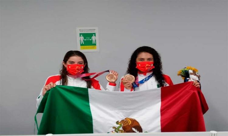 Gaby Agúndez y Alejandra Orozco, orgullo deportivo