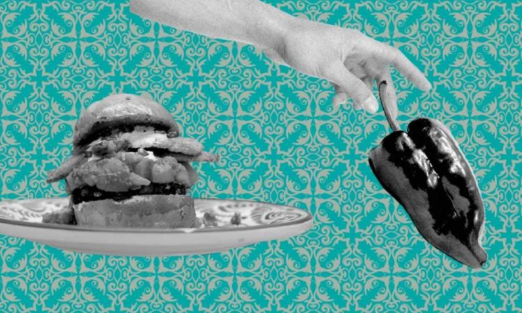 Hamburguesa de Chile en Nogada: ¿Aberración o vanguardia? Chef da veredicto