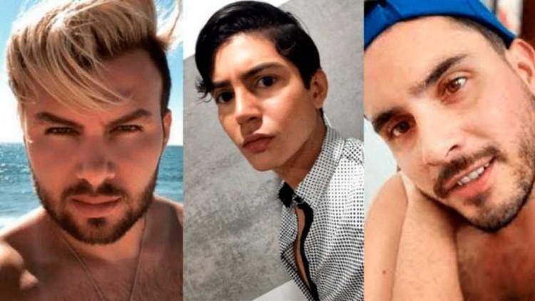 Influencers involucrados @jcvillalobosjc, @feeriveraaa y @el.muneco.acosta.