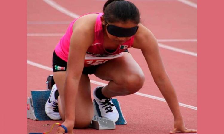 Diana Coraza: la poblana que estará en los Paralímpicos