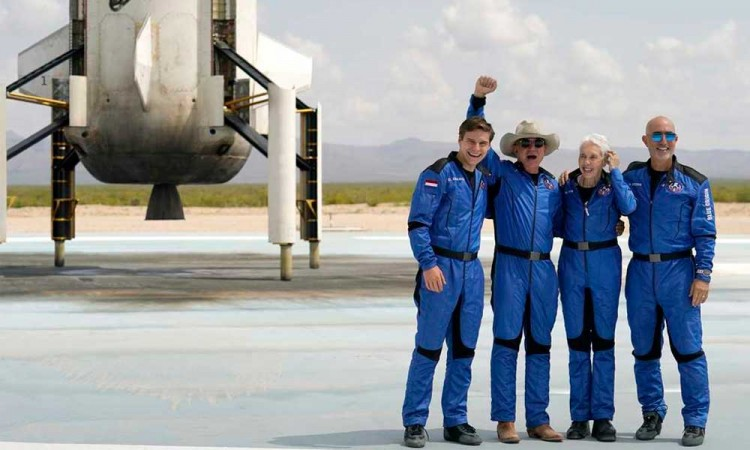 Turismo espacial: ¿cuánta contaminación generan los viajes al espacio?