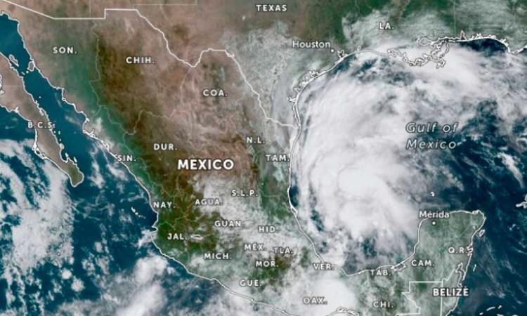Tormenta tropical Nicholas, conoce qué estados afectará en México