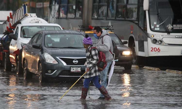 Así el pronóstico del clima para Puebla, habrá fuertes lluvias