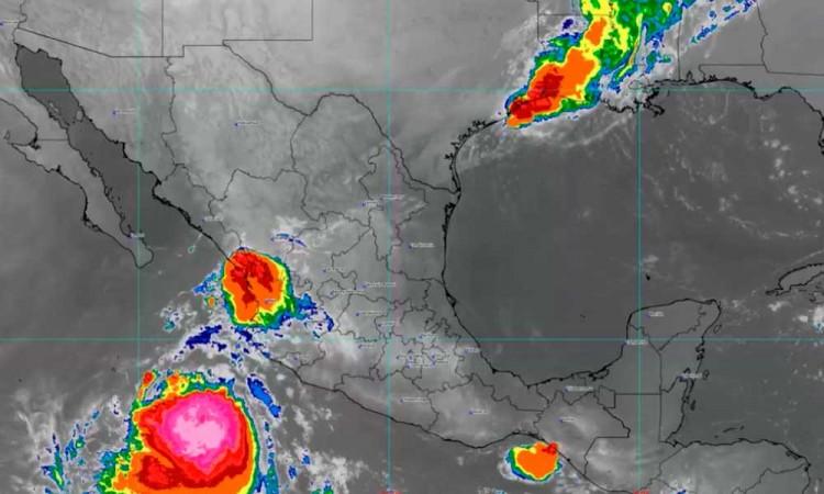 """Tormenta tropical """"Pamela"""": conoce a qué estados del país afectará"""