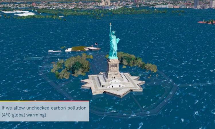 El Cambio Climático dejará bajo el mar a varias ciudades del mundo