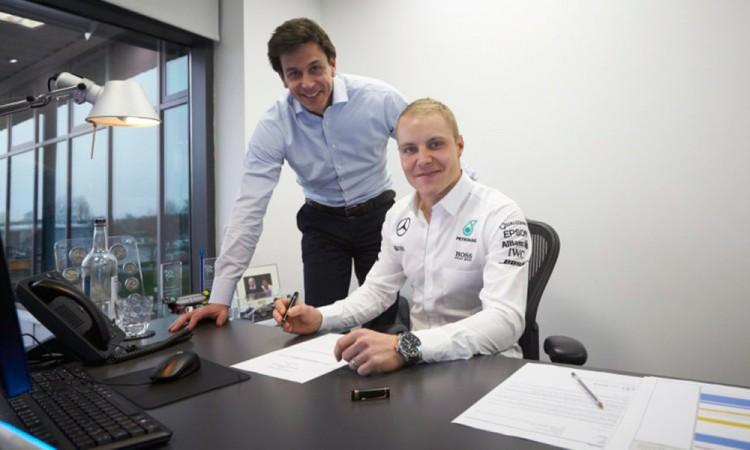 Sustituye Bottas a Rosberg en escudería Mercedes de F1